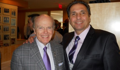 Paul Iacobazzi at an award winning luncheon with Billionaire and auto industry tycoon Mr. Jimmy Pattison.